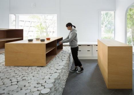 ceramic platform in use