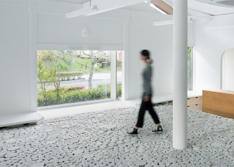 ceramic walkable surface
