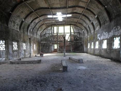 chicken church interior view