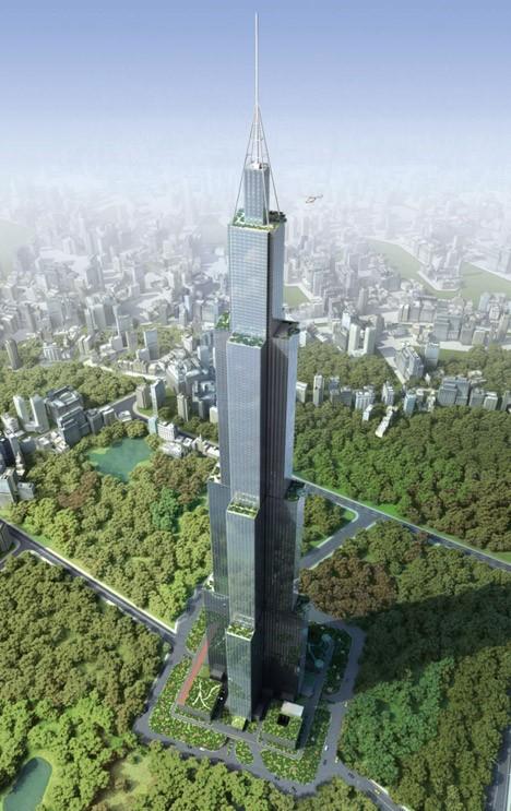 converted skyscraper footing reuse