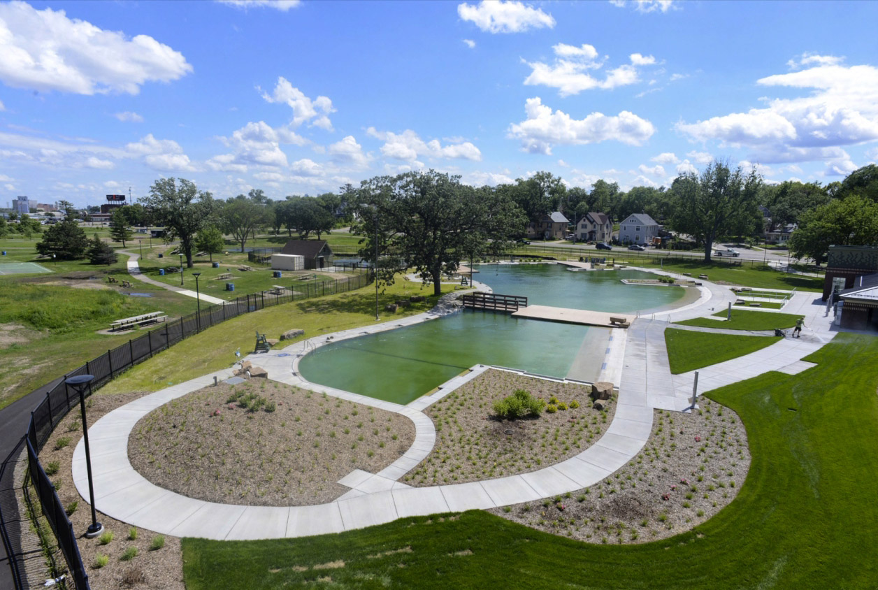 Open Swim In Mn Nation S First Naturally Filtered Public Pool Urbanist