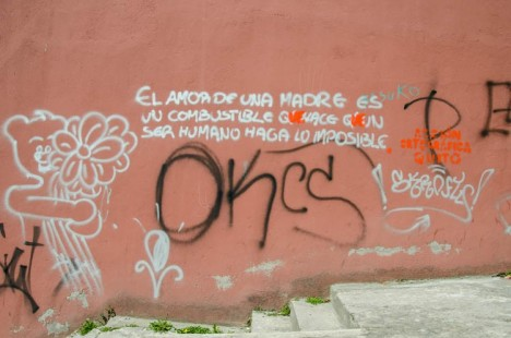 fixing street art spelling