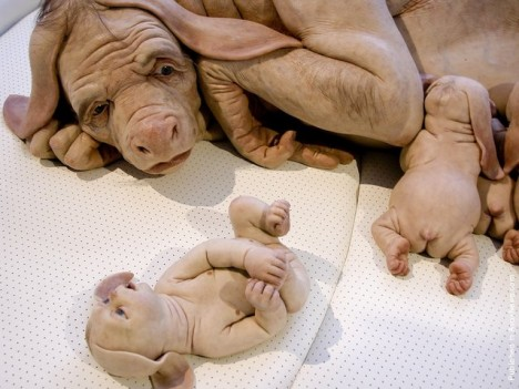 flesh art piccinini 3