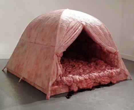 flesh art tent 1