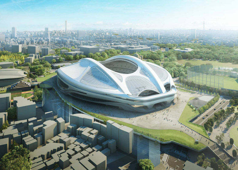japan stadium hadid ditched