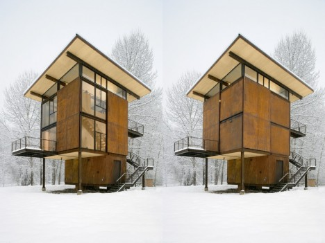 moving architecture delta shelter