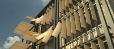 Architecturally alive 16 transforming kinetic buildings for Movement architecture concept