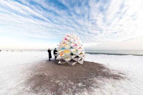moving architecture snow cone 1