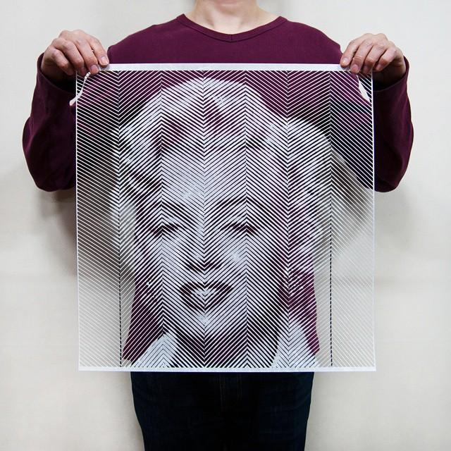 paper cutout portraits 2
