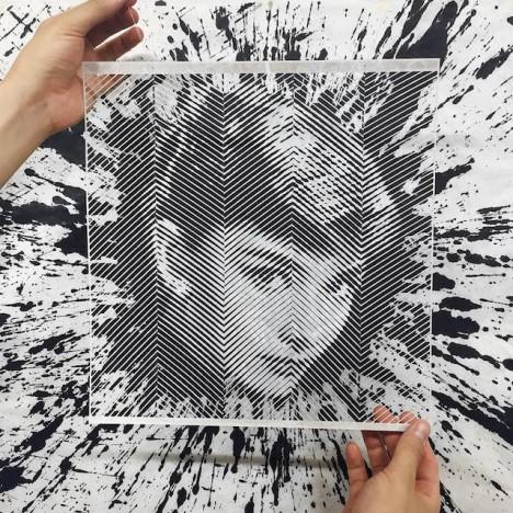 paper cutout portraits 6