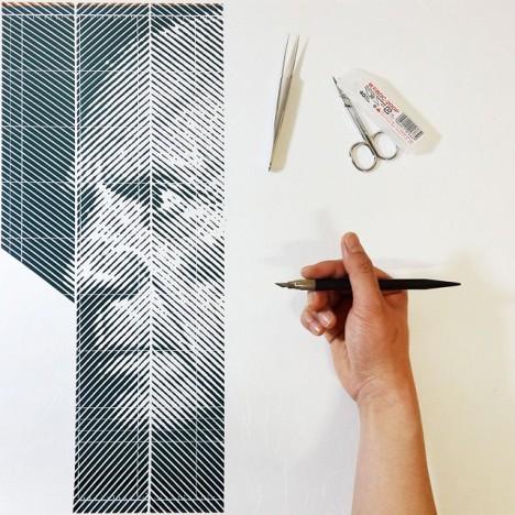 paper cutout portraits 8