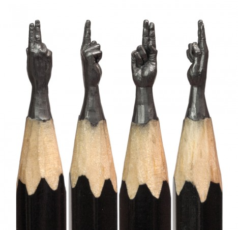 pencil lead carvings 1