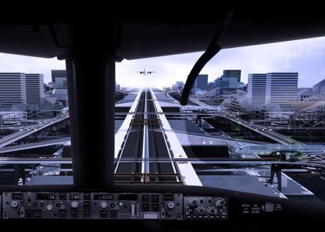 raised plane experience city
