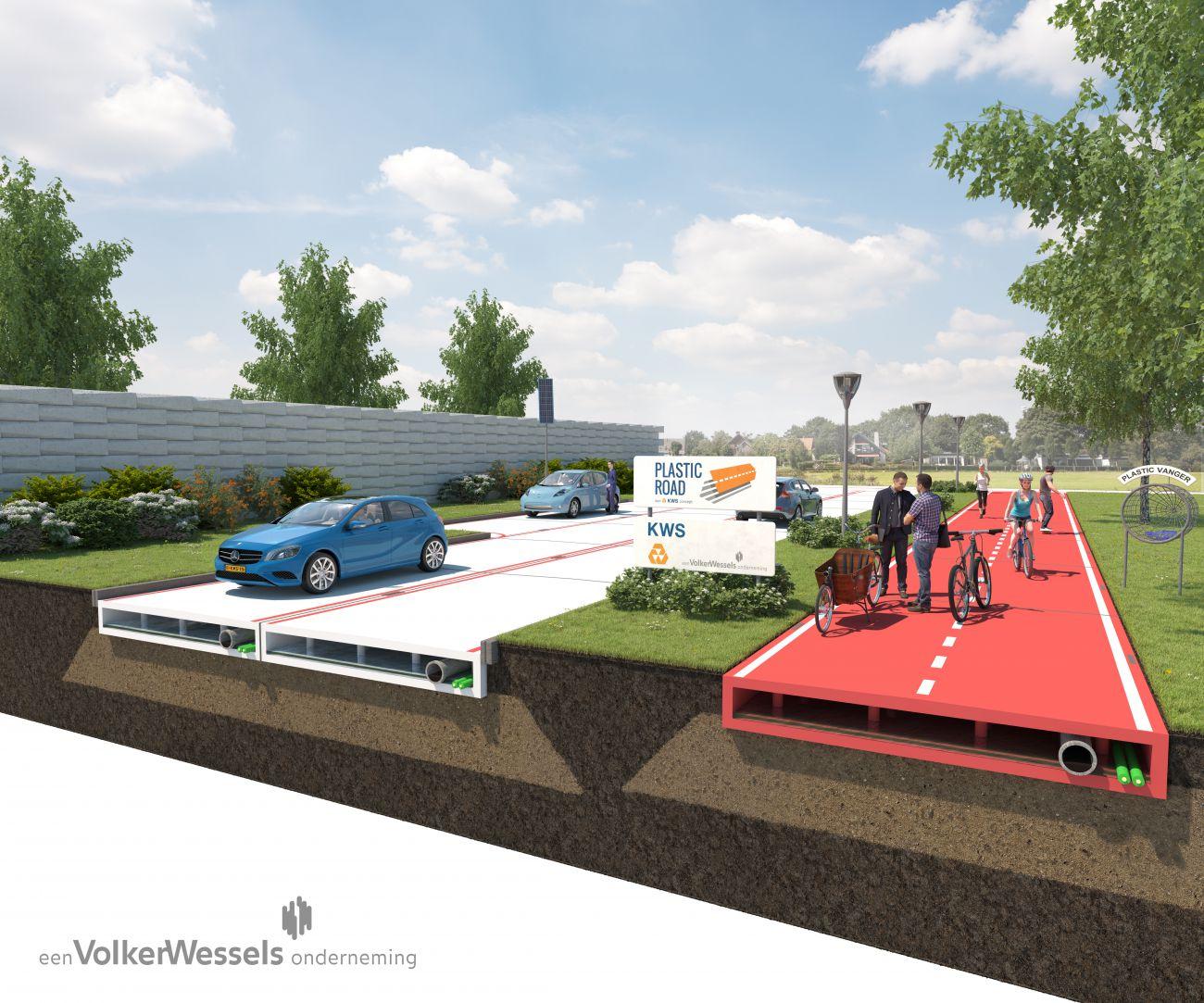 Road Blocks: LEGO-Like Modular Roads & Paths Snap Into Place