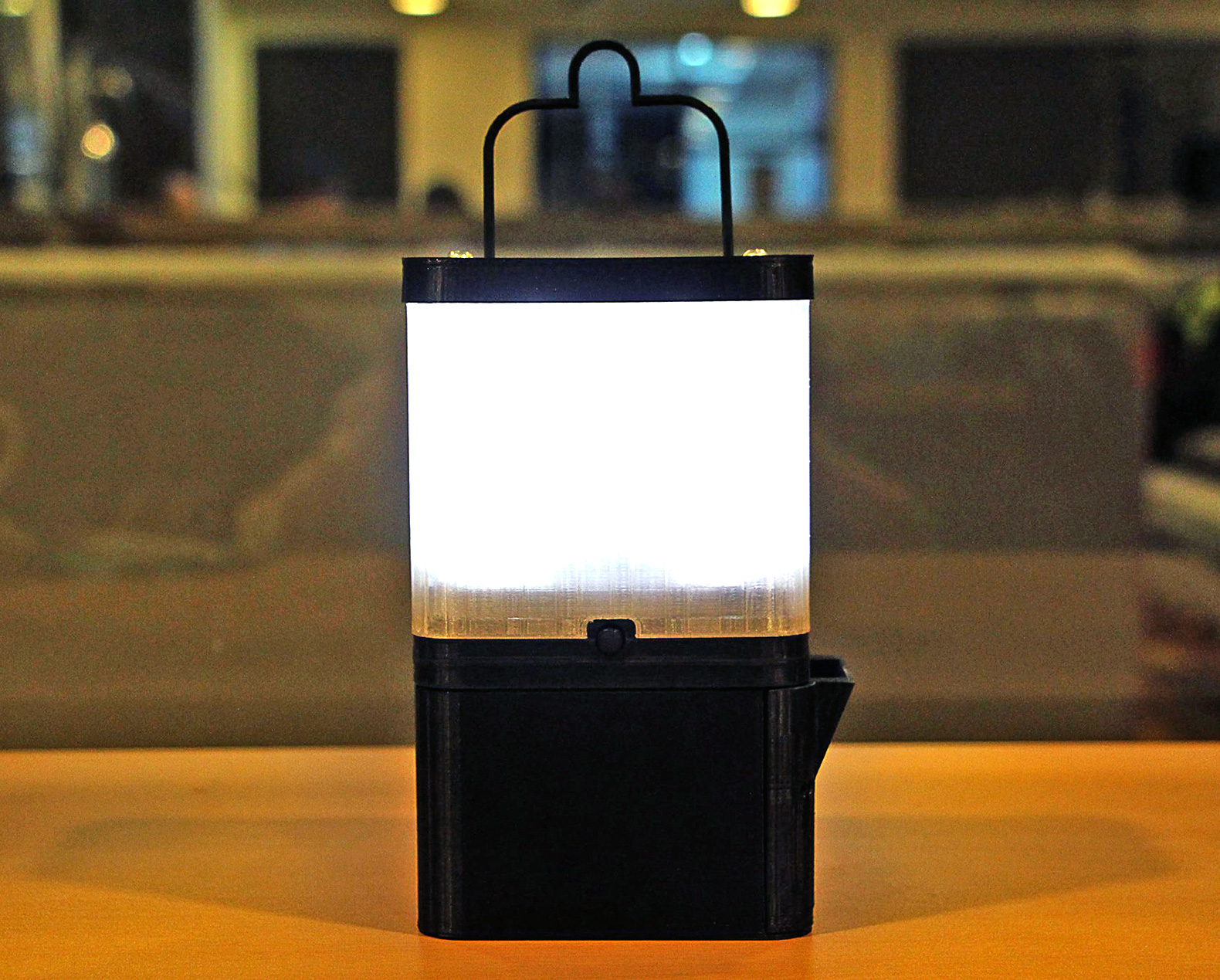 Salt Powered Lamp 8 Hours Of Light From 1 Glass Of