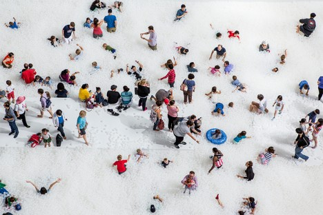 snarkitecture ball pit 2