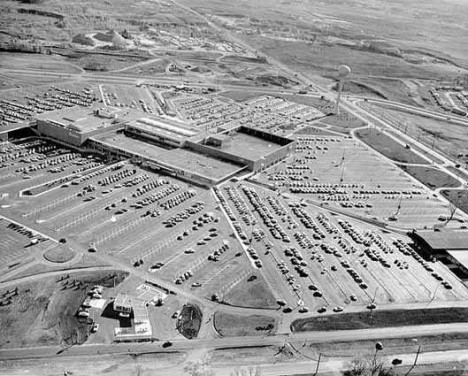 southdale center aerial view