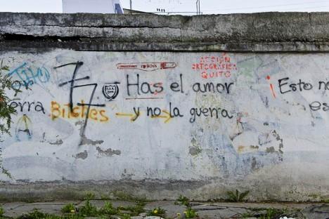 street art spelling fix