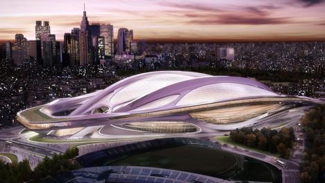 tokyo stadium design