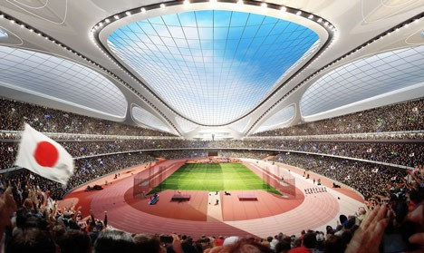 tokyo stadium interior