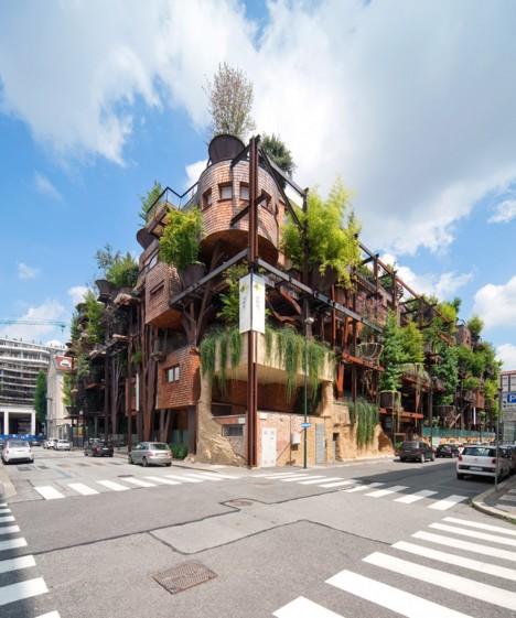 tree house urban torino