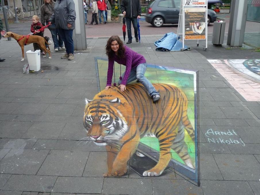 3D sidewalk mural 8