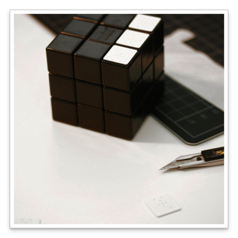 blind inventions rubiks cube 2