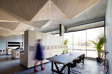ceilings origami