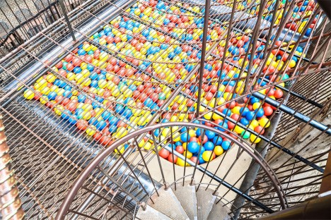 city museum ball pit
