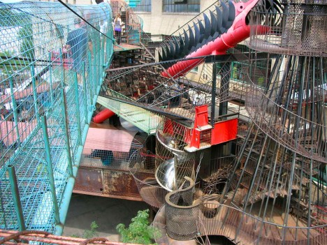 city museum bridge system