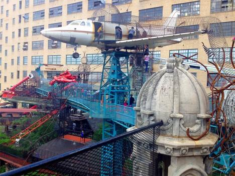 city museum tower plane