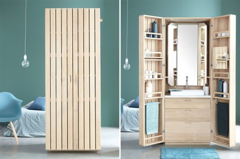 smart style for small spaces 12 compact sets modules archiweb 3 0. Black Bedroom Furniture Sets. Home Design Ideas