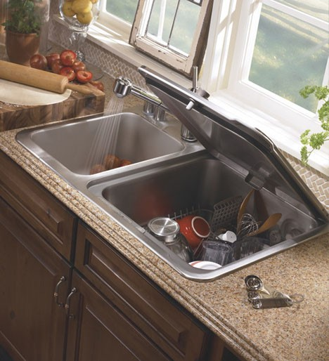 compact apartment dish sink 2