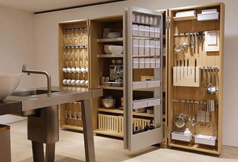 Compact Apartment Kitchen Storage 2