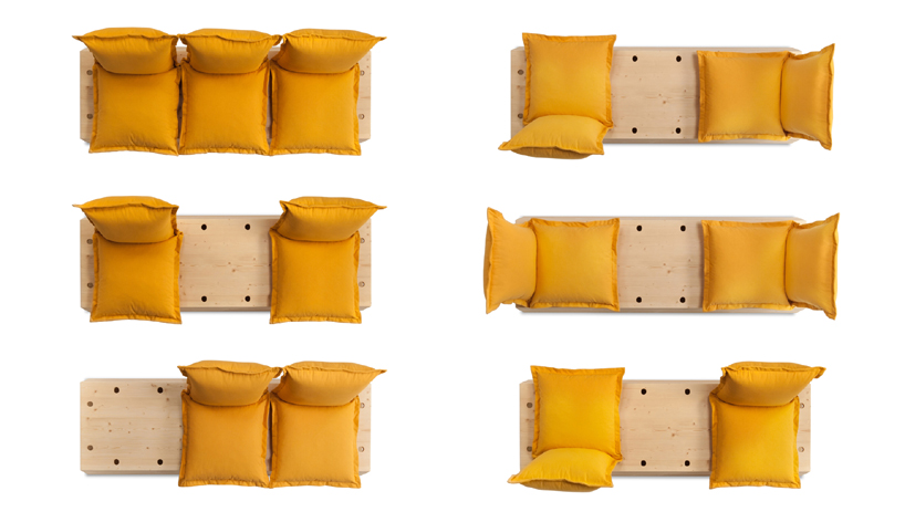 customizable facile sofa