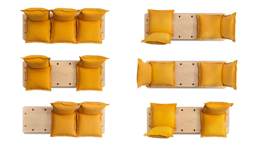 customizable facile sofa