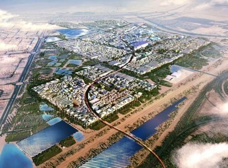 desert city from scratch