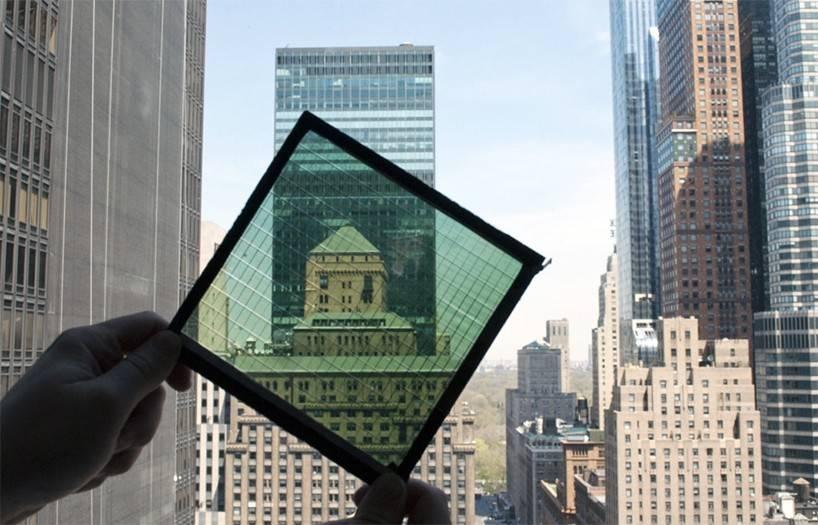 solar power windows