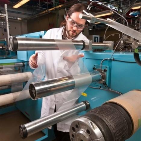 solar sheet making process
