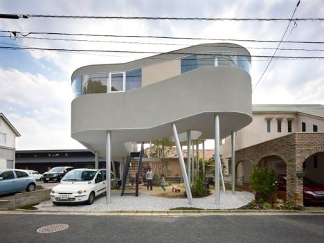 spaceship toda house