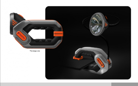 tools clamp light