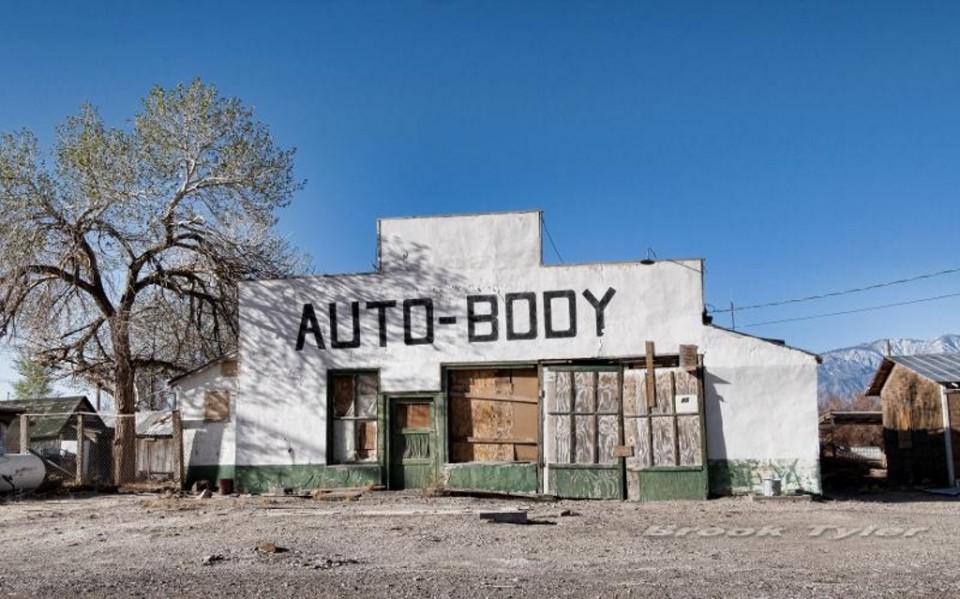 Paint And Body Shops >> Fender Bender Menders: 15 Abandoned Auto Body Shops | Urbanist