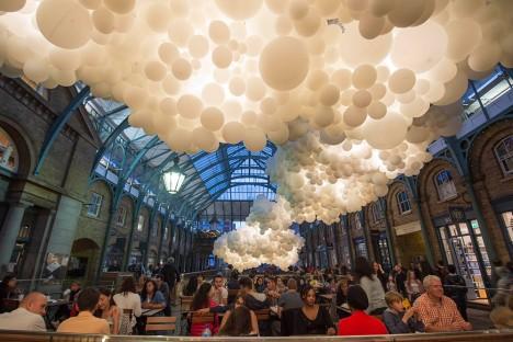 cloud art amorphous project