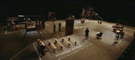 dogville movie set scene