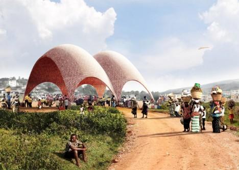 drone airport rwanda