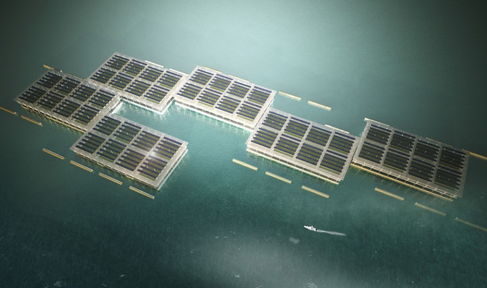 floating modular barge farms