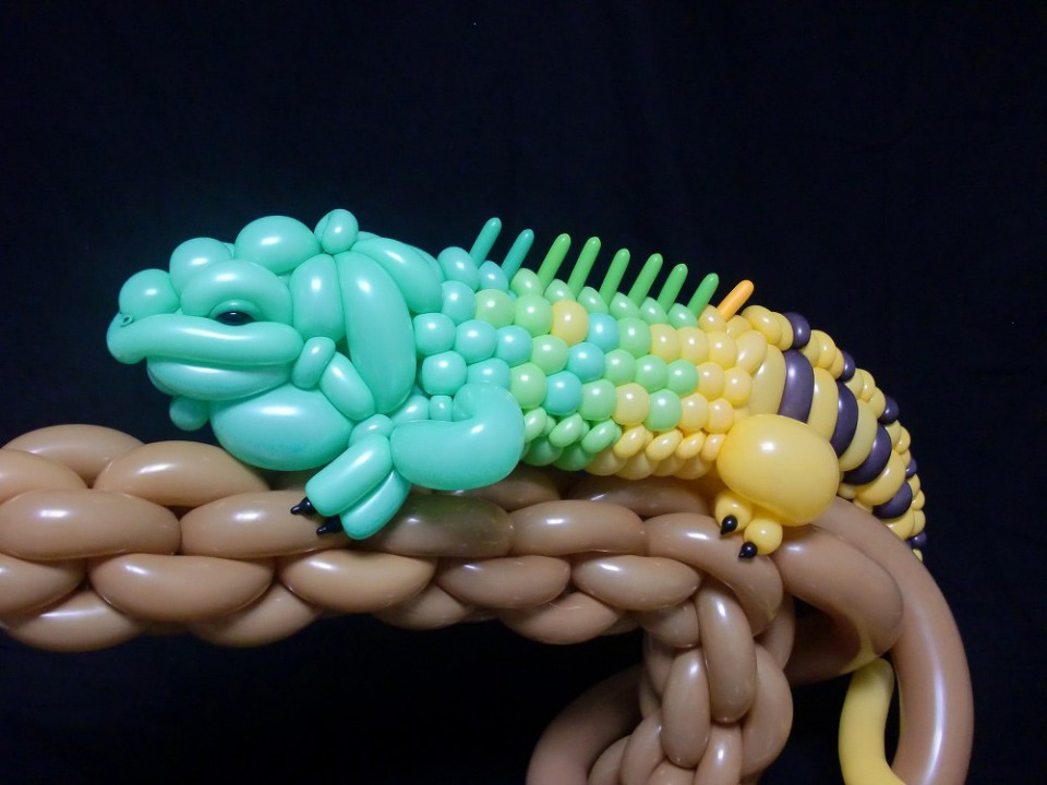 inflatable art balloon animals 1