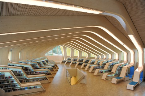 Room To Read In A Digital World 14 Modern Library Designs