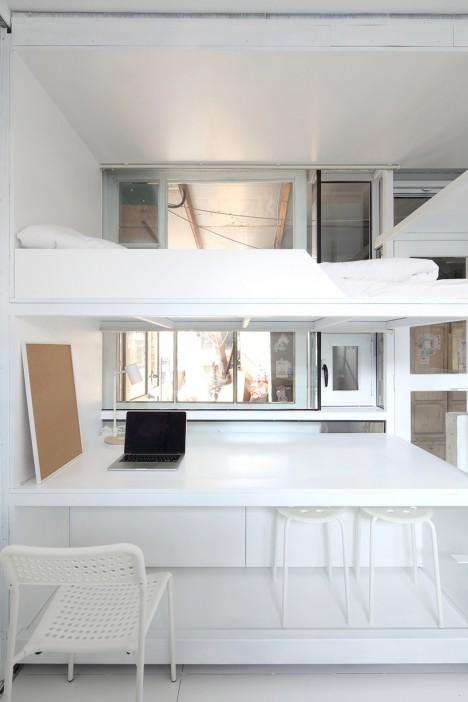 modular daytime work space