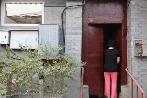 modular hostel front door